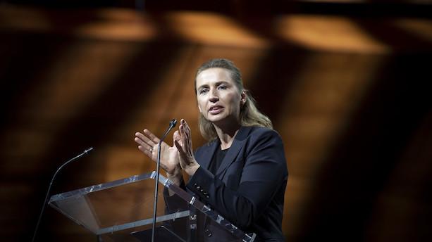"""Mette F vil lave klimakontrakt med erhvervslivet: """"Hvis vi skal nå målene i 2030 og 2050, er vi nødt til at gå i gang branche for branche"""""""
