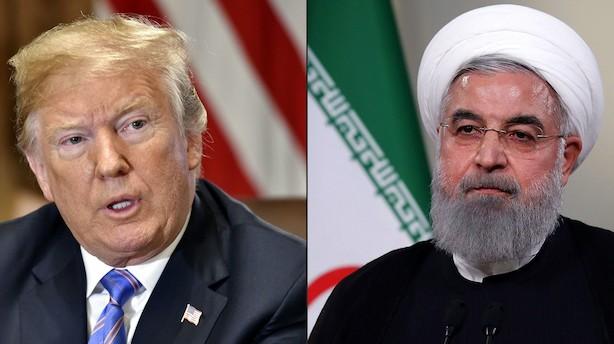 Donald Trump vil sanktionere Iran yderligere efter droneangreb