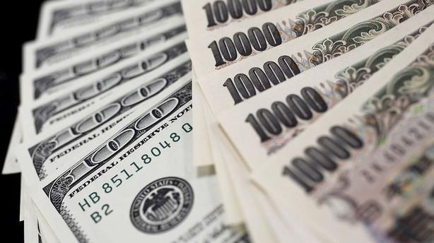 Valuta: Stilhed blandt hovedvalutaerne mens yuan svækkes