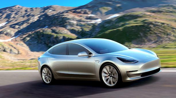 """Ny billig-Tesla bliver """"latterlig"""" hurtig"""
