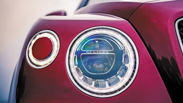 Bentley Bentayga V8 Diesel er dekadent