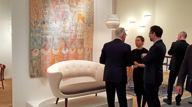 Jagten på danske mesterværker ved verdens største kunstmesse