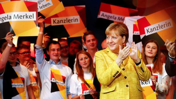 Tysk valg i sidste time før ventet exitpoll: Det skal du holde øje med