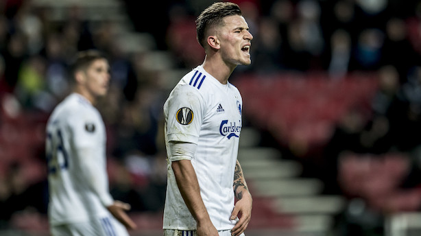 FC København sælger Verbic til ukrainsk storklub