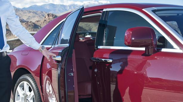 Rolls-Royce åbner dansk forhandler