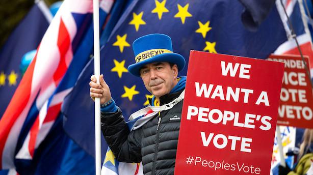 Analyse: Voksende flertal af briterne fortryder -  de vil gerne blive i EU