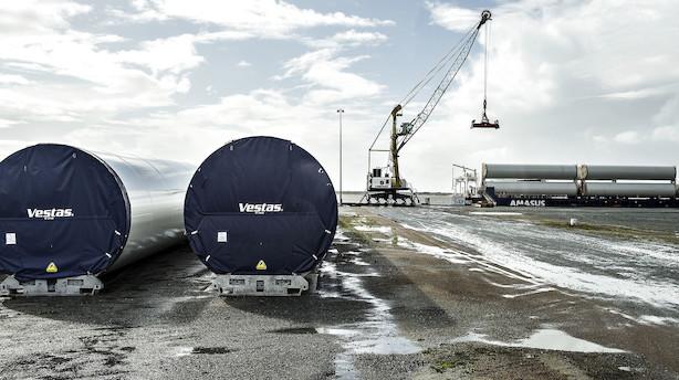 Sydbank skruer op for forventningerne til Vestas efter rekordår