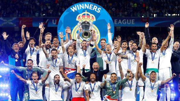 Real Madrid vælter Manchester United af pinden som den fodboldklub i verden med størst omsætning