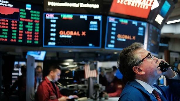 Aktieåbning i USA: Fortsat usikkerhed giver ventet rød handelsstart