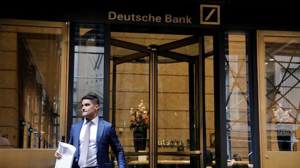 Deutsche Bank får første hop i kursmål efter stor strategiplan