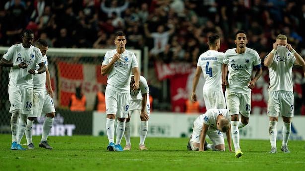 Parken nedjusterer efter FCK's exit fra Champions League