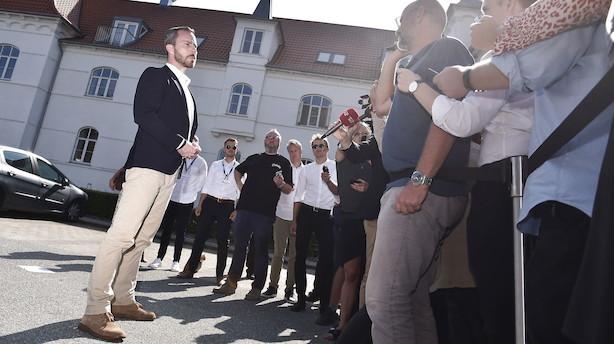 Helle Ib: Løkkes voldsomme exit efterlader et skrammet Venstre