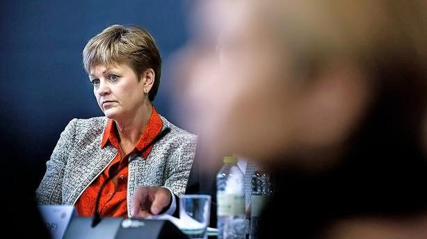 Ministertaburet vakler under Eva Kjer Hansen