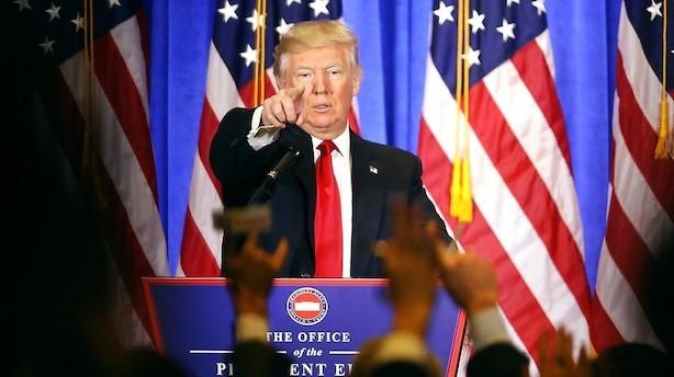 Overblik: Det sagde Donald Trump om....