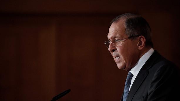 Russiske Lavrov kritiserer USA for røveri ved højlys dag