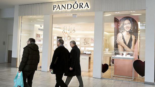 Pandora: Amerikansk hedgefond reducerer shortposition