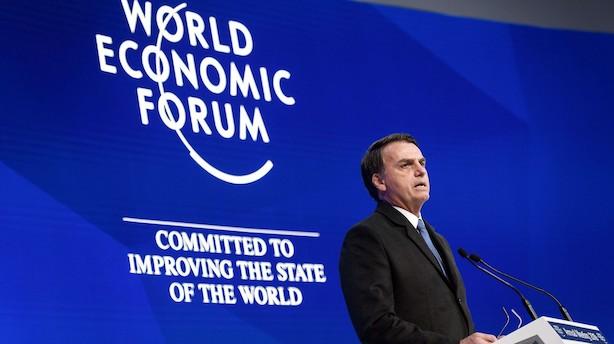 """'Tropernes Trump"""" blev valgt på protektionistisk dagsorden: Nu lover han frihandel i Davos"""