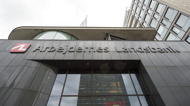 """Overskud i Arbejdernes Landsbank dykker med 74 pct: """"2018 har været et år med svære betingelser"""""""