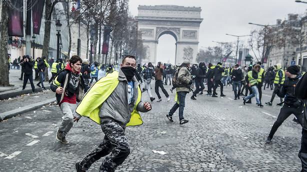 Macron om nye protester: Vi ser folk som ønsker at ødelægge republikken