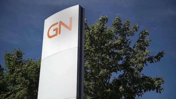Markedet lukker: GN blev belønnet for stor Audio-opjustering