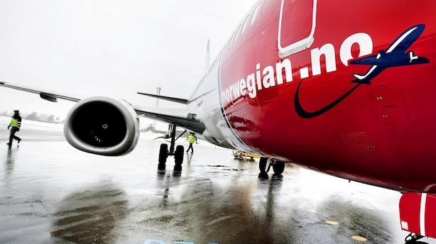 Norwegian får udsat leveringen af 14 Boeing-fly