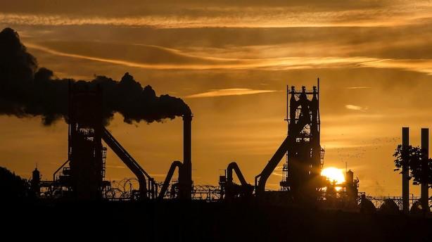 Stålproducent ramt af brexit og handelskrig - British Steel tæt på kollaps