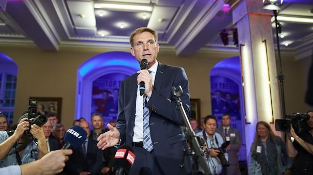 10 dage før folketingsvalget får DF en syngende vælgerlussing til EP-valget