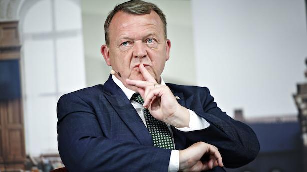 Lars Løkke får færre stemmer end Mette Frederiksen