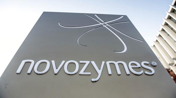 Markedet lukker: Novozymes faldt efter præsentation af ny strategi