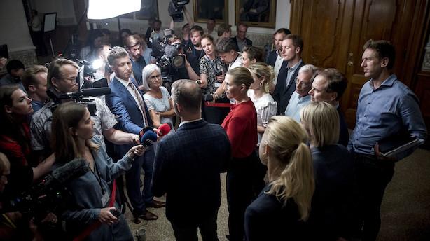 Valgløfte om pension udestår i aftale: Østergaard ser det ikke for sig