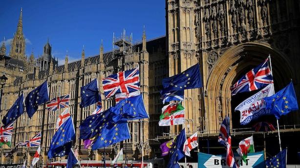 Afstemning i det britiske Underhus ca. klokken 20: Er der for første gang et flertal for en brexitaftale?