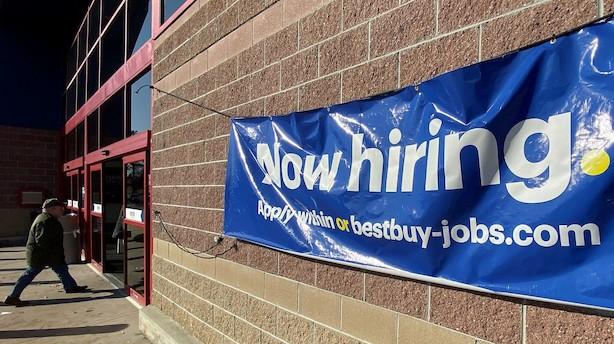Aktieluk i USA: På weekend med minusser efter jobrapport
