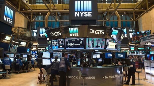 Aktier: Humøret stiger på Wall Street