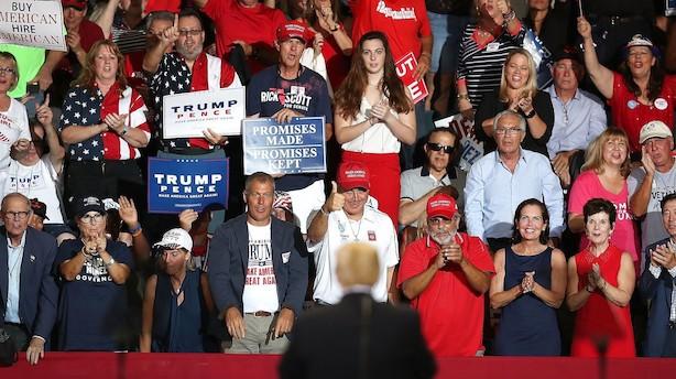 Trump skruer yderligere op for immigrationsfrygt i valg-slutspurt. Frustrationen vokser hos kandidater fra begge partier