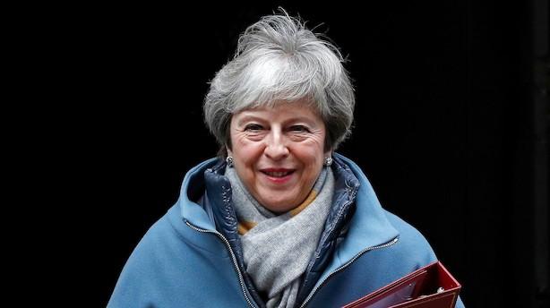 May fremlægger plan B for brexit: Fastholder plan A og kræver indrømmelser fra EU