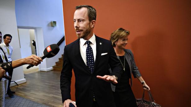 """Ellemann bakker op om både Støjberg og Ellen Trane som ny V-næstformand: """"Et luksusproblem"""""""