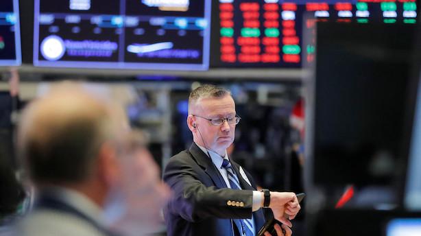 Aktiestatus i USA: Wall Street dykker efter udmeldinger fra Trump
