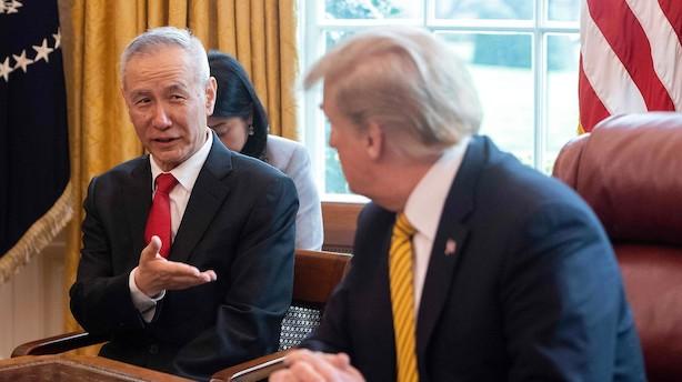 """USA vil droppe betegnelse af Kina som """"valutamanipulator"""""""