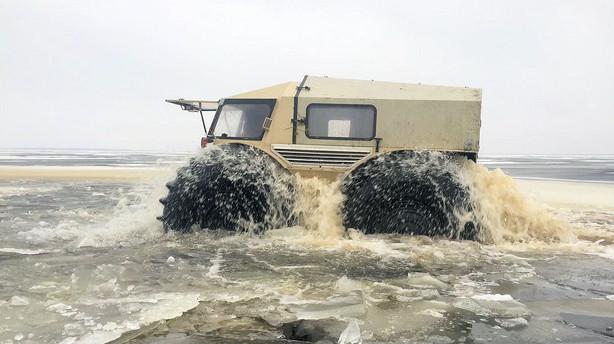 Russerne kommer - og de kører på vandet