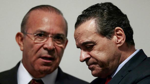 Ny brasiliansk minister fedtes ind i oliesag og går af
