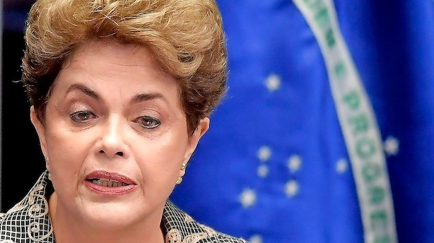 Brasiliens præsident kalder rigsretssag mod hende for et kup