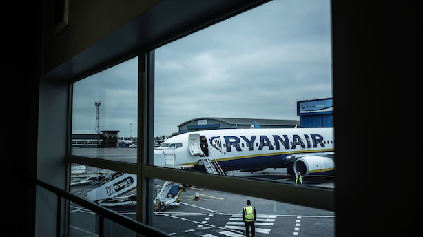 Ryanair begynder til oktober at flyve fra Aalborg