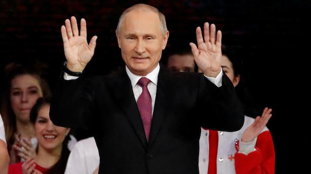 ruslands præsidenter gennem tiden
