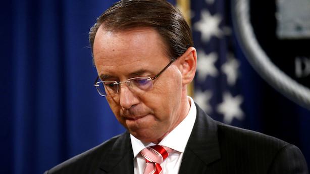 Medier: Det Hvide Hus vil fyre USA's vicejustitsminister