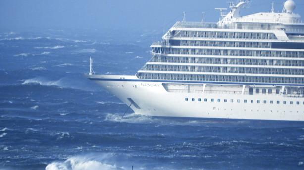 Skibsingeniør: Krydstogtskib i nød var tæt på katastrofe