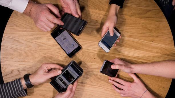 Smartphones skal levere sundhedsdata til regionerne