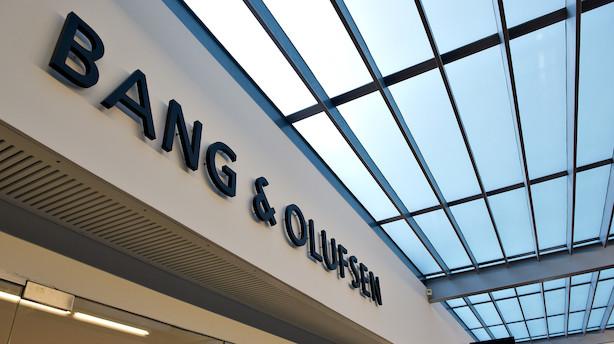 Bang & Olufsen-direktør køber aktier for 900.000 kr.