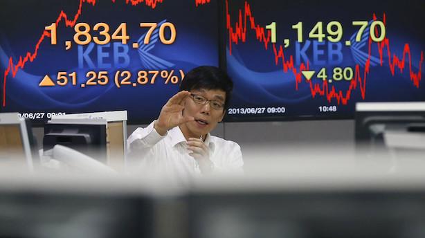 Aktier: Handelshåb tænder for investorvilligheden i Asien