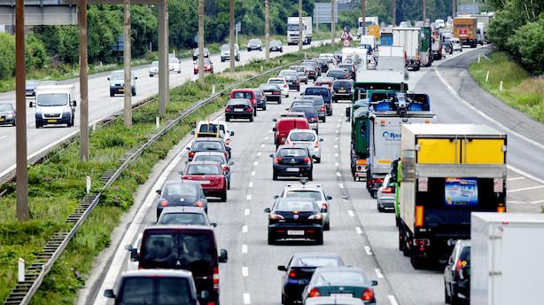 Udenlandske bilister skal betale op mod 1000 kroner om året for at køre på danske veje