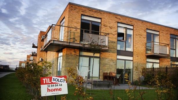Drop til salget af lejligheder - huse slår rekord